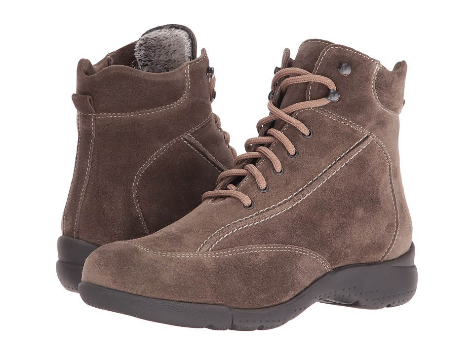 La Canadienne - Trista (Stone Suede/Cozy) Women