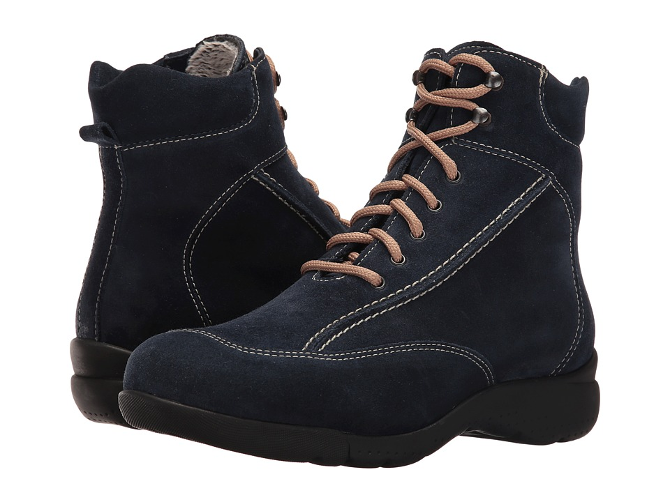 La Canadienne - Trista (Navy Suede/Cozy) Women