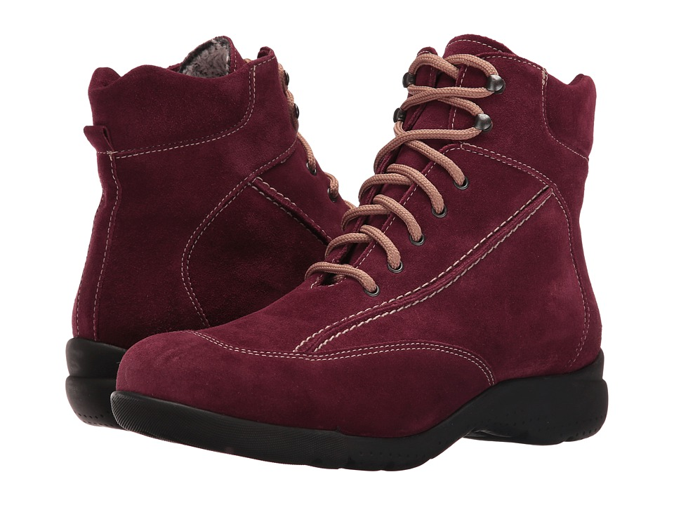 La Canadienne - Trista (Wine Suede/Cozy) Women