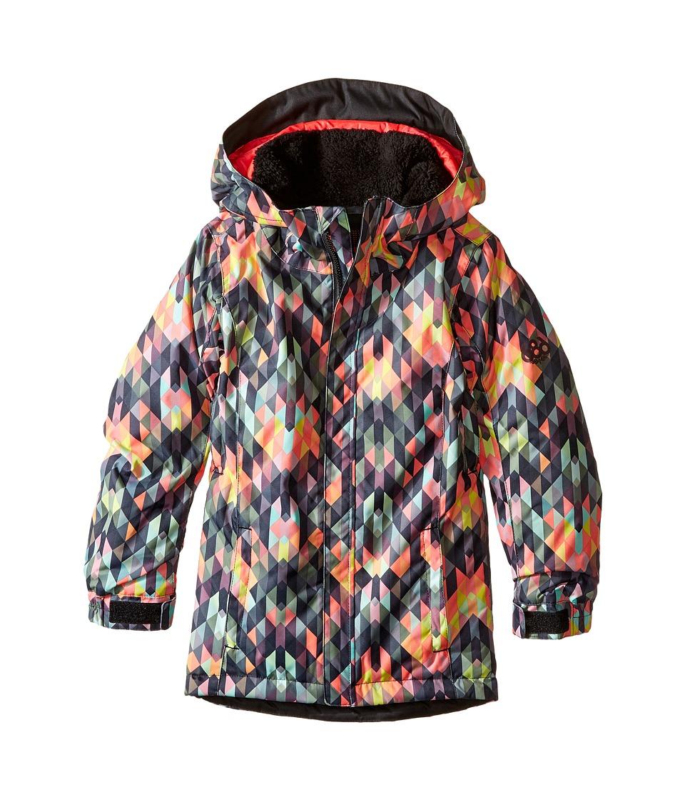 Image of 686 Kids - Flora Insulated Jacket (Big Kids) (Kaleidoscope) Girl's Coat