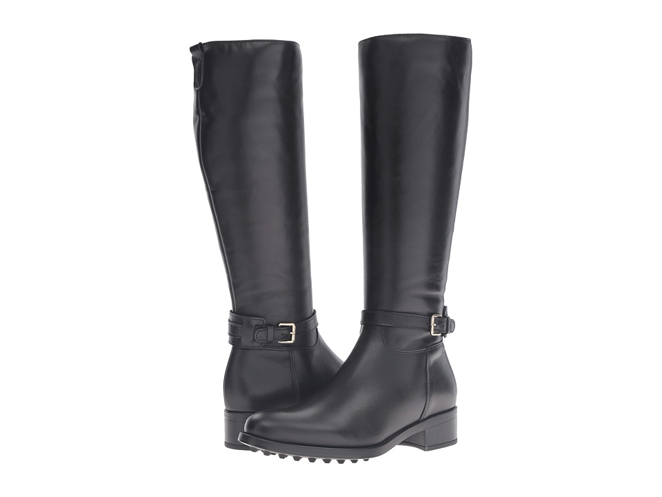 La Canadienne - Simone (Black Leather) Women