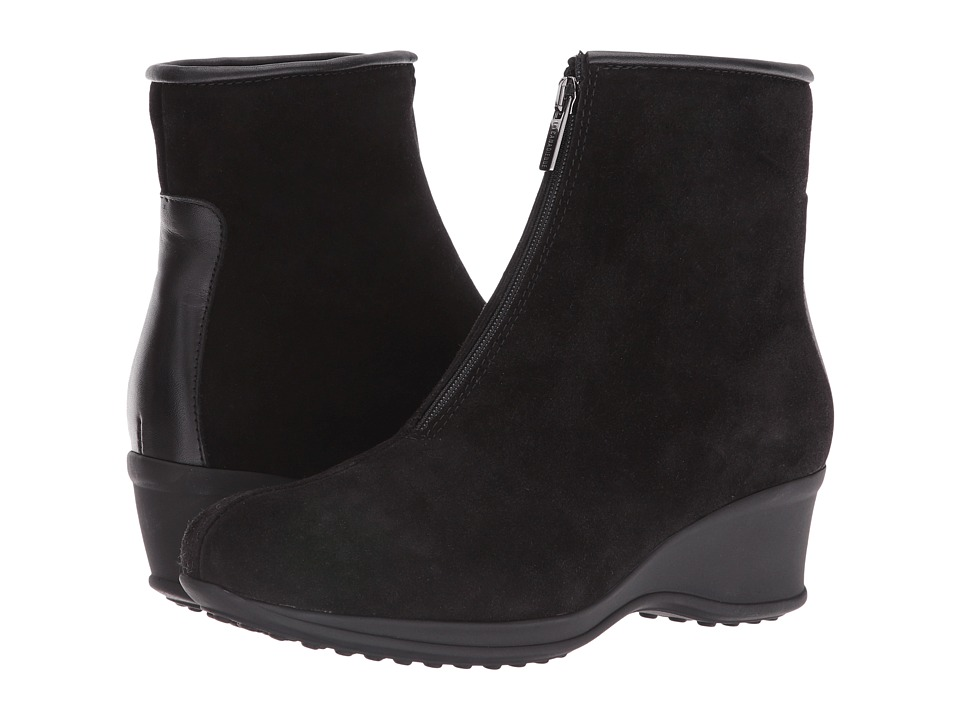 La Canadienne - Florence (Black Suede/Cozy) Women
