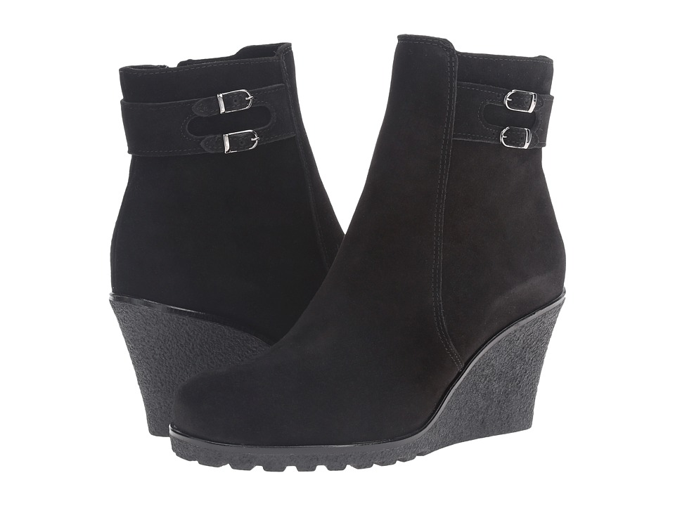 La Canadienne - Karley (Black Suede) Women
