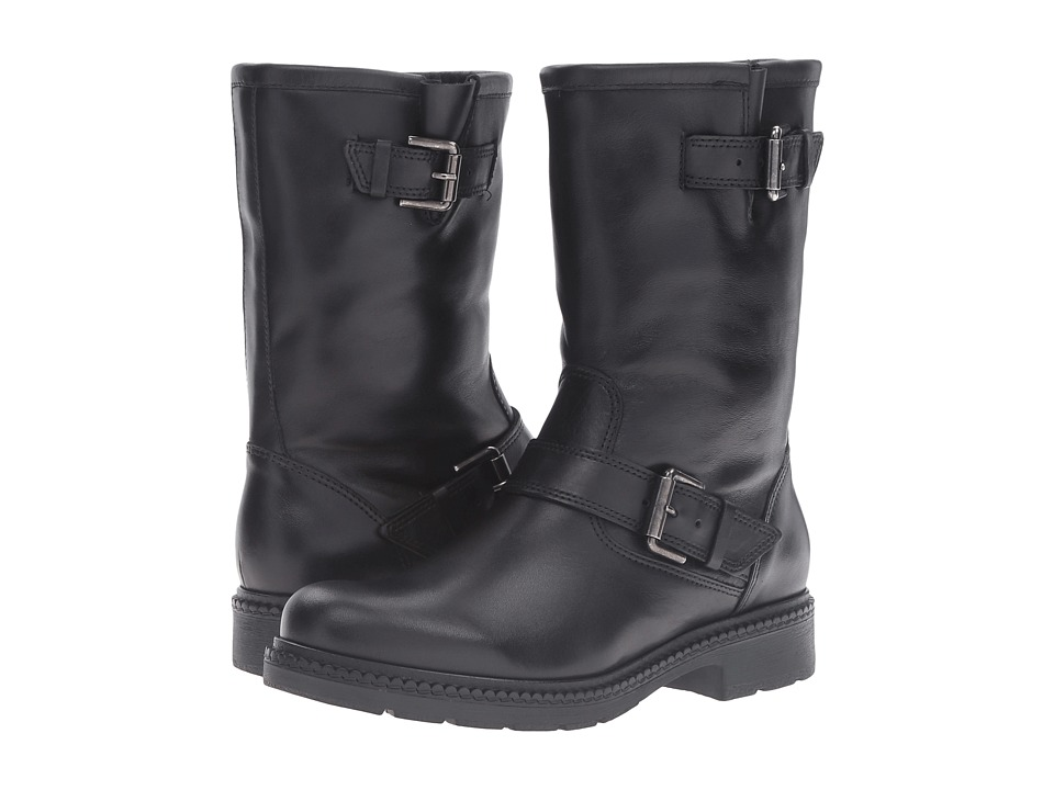 La Canadienne - Cheryl (Black Leather/Black Cozy) Women