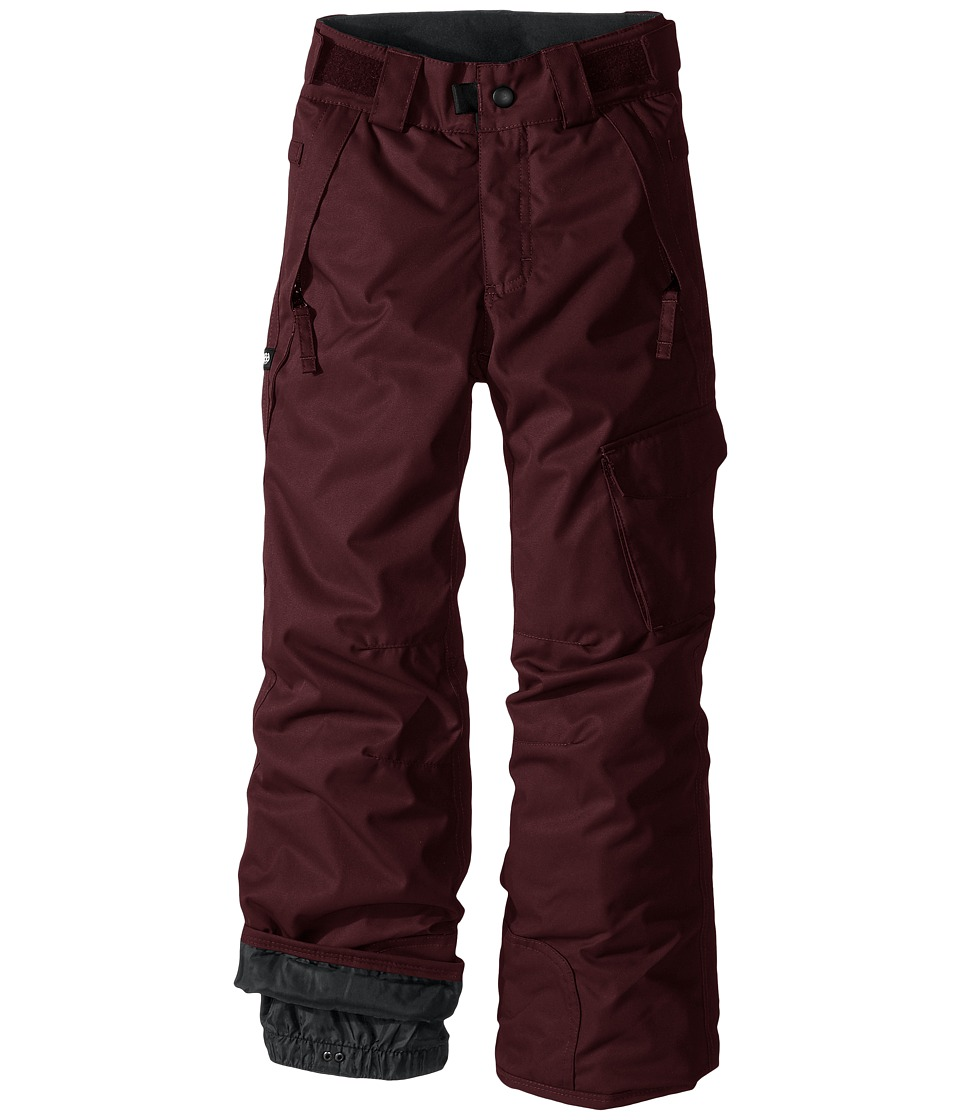 Image of 686 Kids - Agnes Insulated Pants (Big Kids) (Black Ruby) Girl's Casual Pants