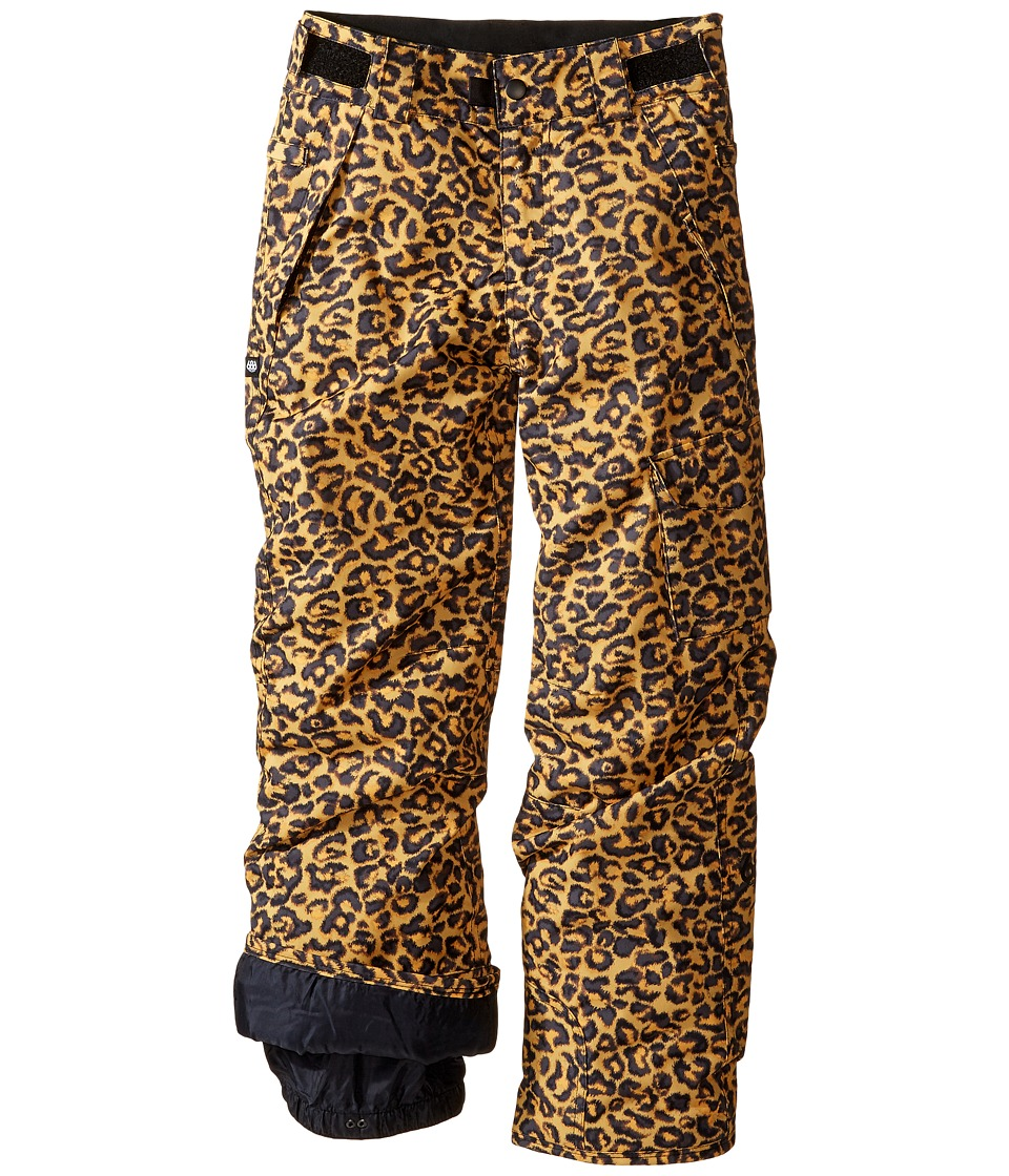 Image of 686 Kids - Agnes Insulated Pants (Big Kids) (Leopard Print) Girl's Casual Pants
