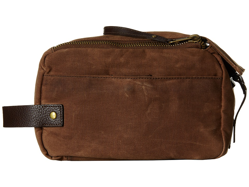 Will Leather Goods - Yocum Ridge Travel Kit (Field Tan) Travel Pouch