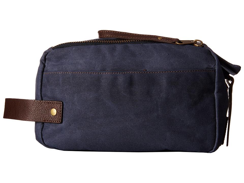Will Leather Goods - Yocum Ridge Travel Kit (Navy) Travel Pouch