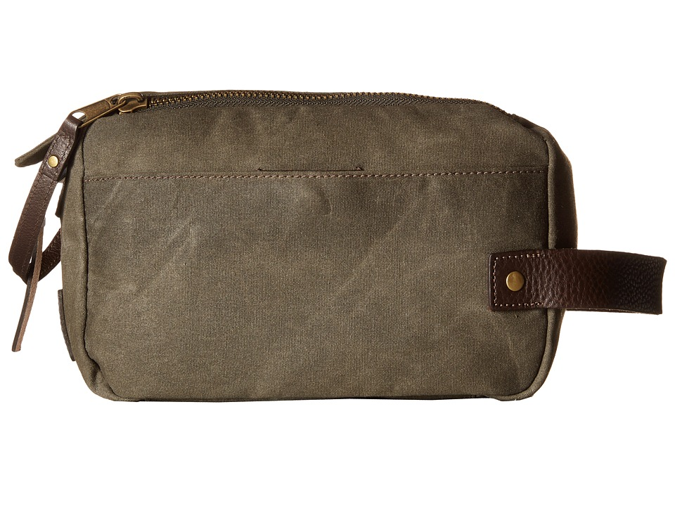 Will Leather Goods - Yocum Ridge Travel Kit (Olive) Travel Pouch