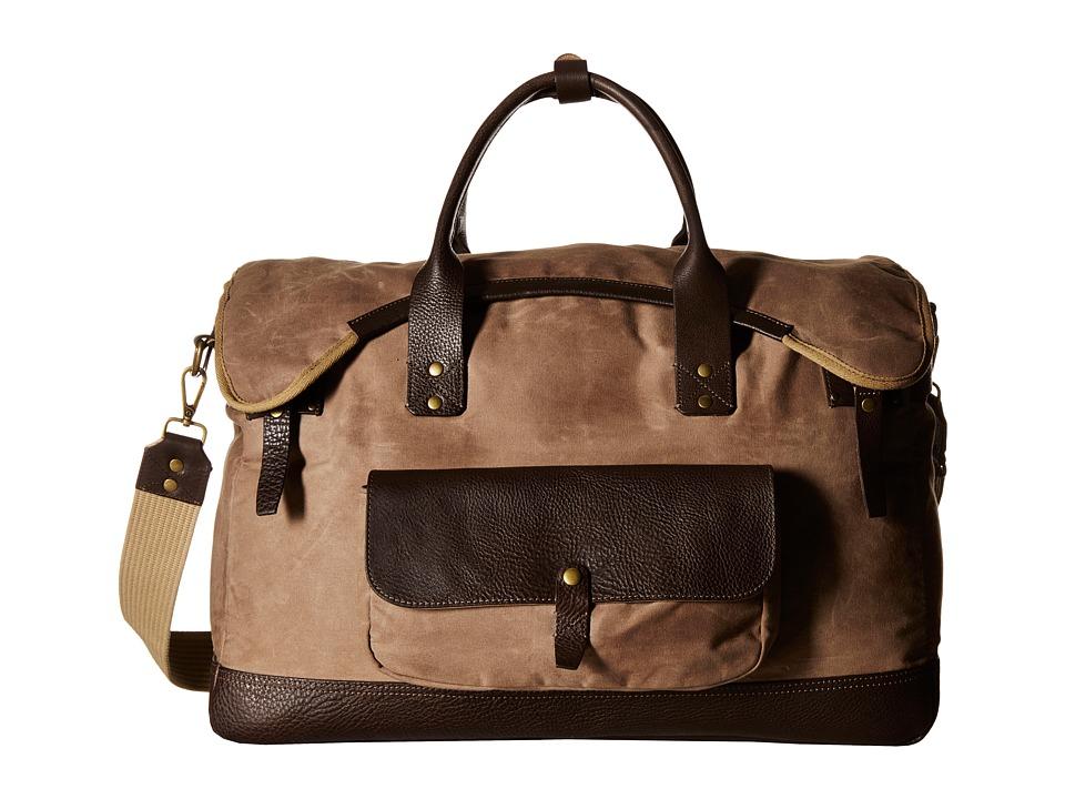 Will Leather Goods - Elk Cove Duffel (Field Tan) Duffel Bags