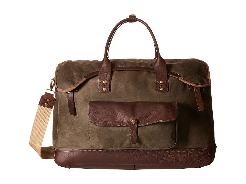 Will Leather Goods - Elk Cove Duffel (Olive) Duffel Bags