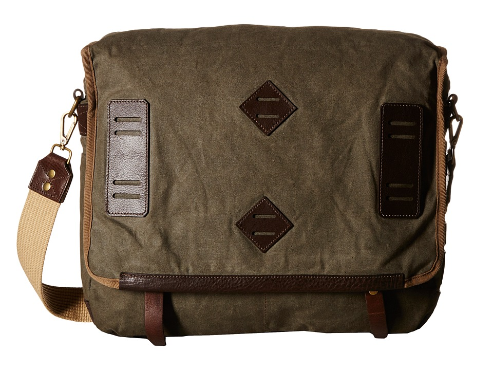 Will Leather Goods - Mirror Lake Messenger (Olive) Messenger Bags
