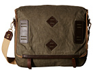 Will Leather Goods Mirror Lake Messenger (Olive)