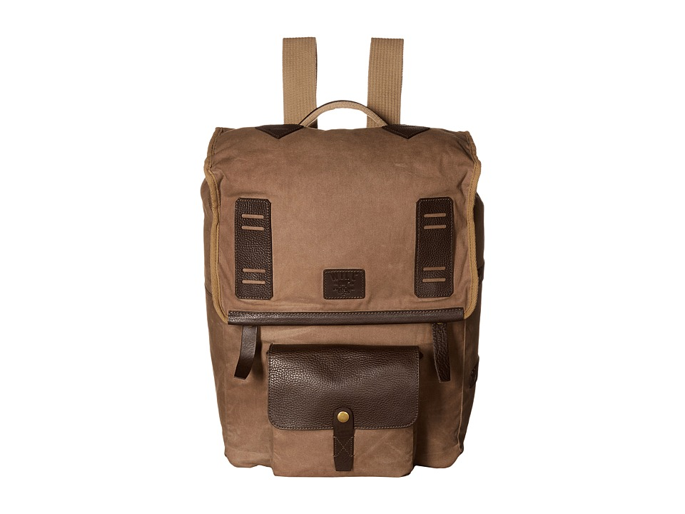 Will Leather Goods - Timberline Rucksack (Field Tan) Backpack Bags