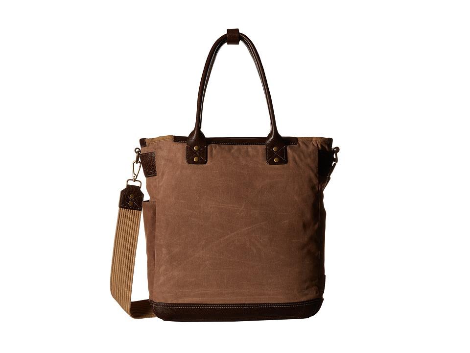 Will Leather Goods - Ramona Falls Tote (Field Tan) Tote Handbags