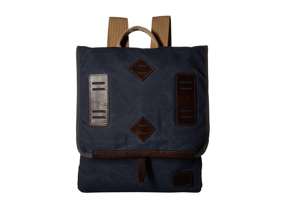 Will Leather Goods - Burnt Lake Canoe (Navy) Handbags