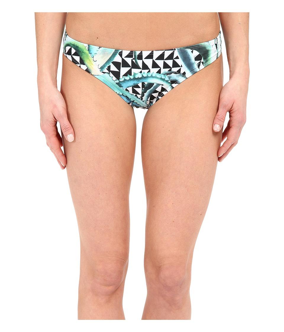Mara Hoffman Classic Bottom Aloe Green Womens Swimwear