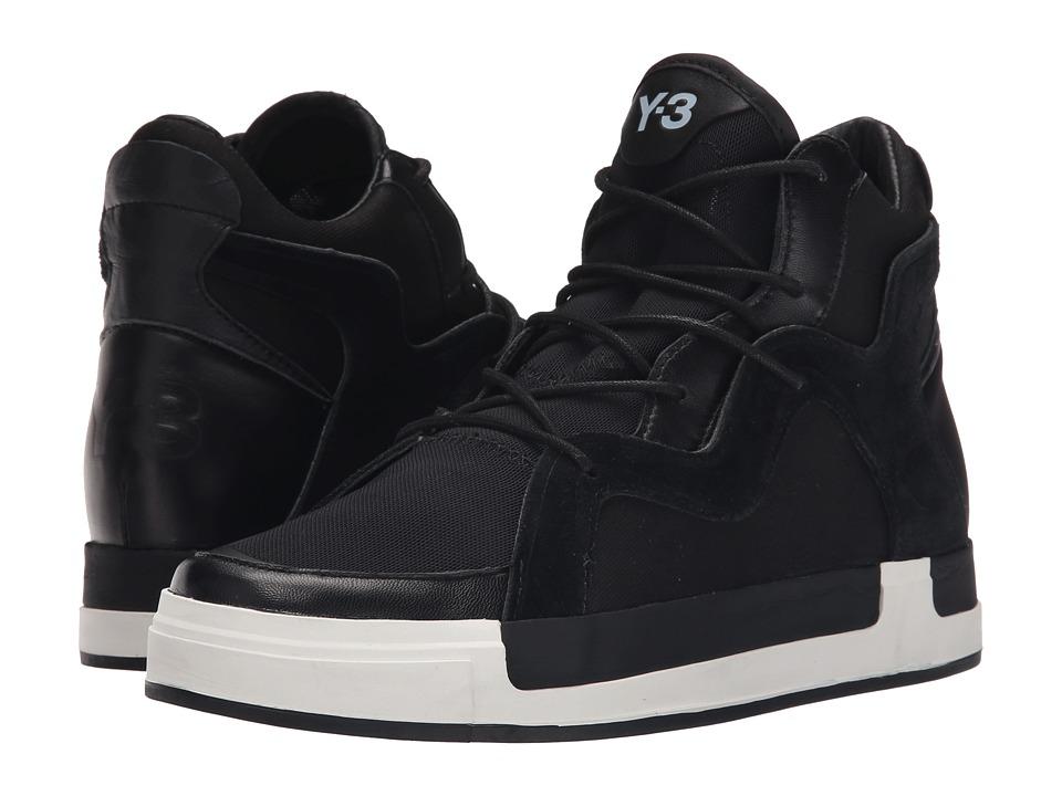 adidas Y 3 by Yohji Yamamoto Riyal III Core Black/Core Black/White Womens Shoes