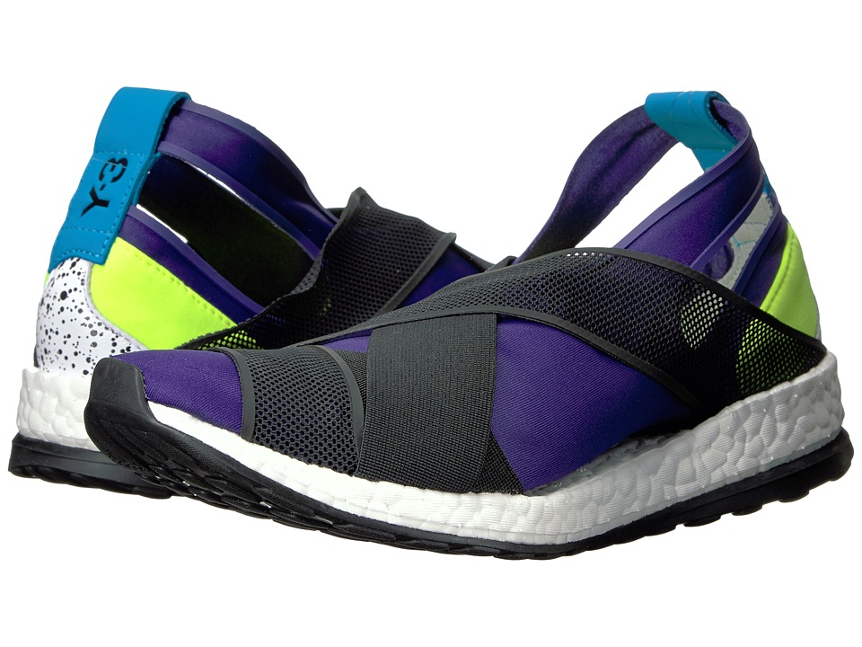 adidas Y 3 by Yohji Yamamoto Dansu Boost Collegiate Purple/Core Black/Solar Yellow Womens Shoes