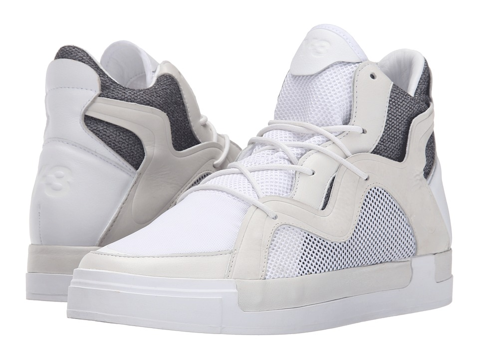 adidas Y 3 by Yohji Yamamoto Riyal III White/White/White Womens Shoes