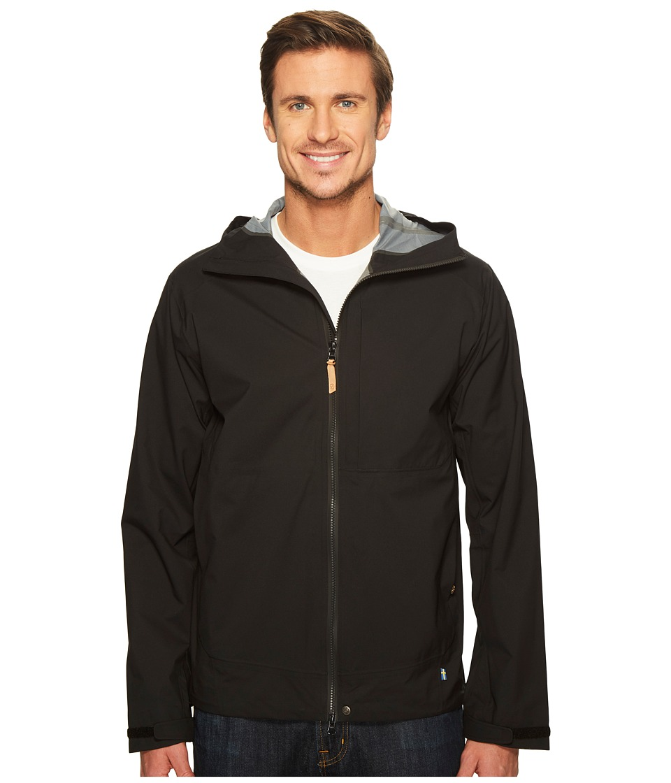 Fjallraven Abisko Eco-Shell Jacket (Black) Men
