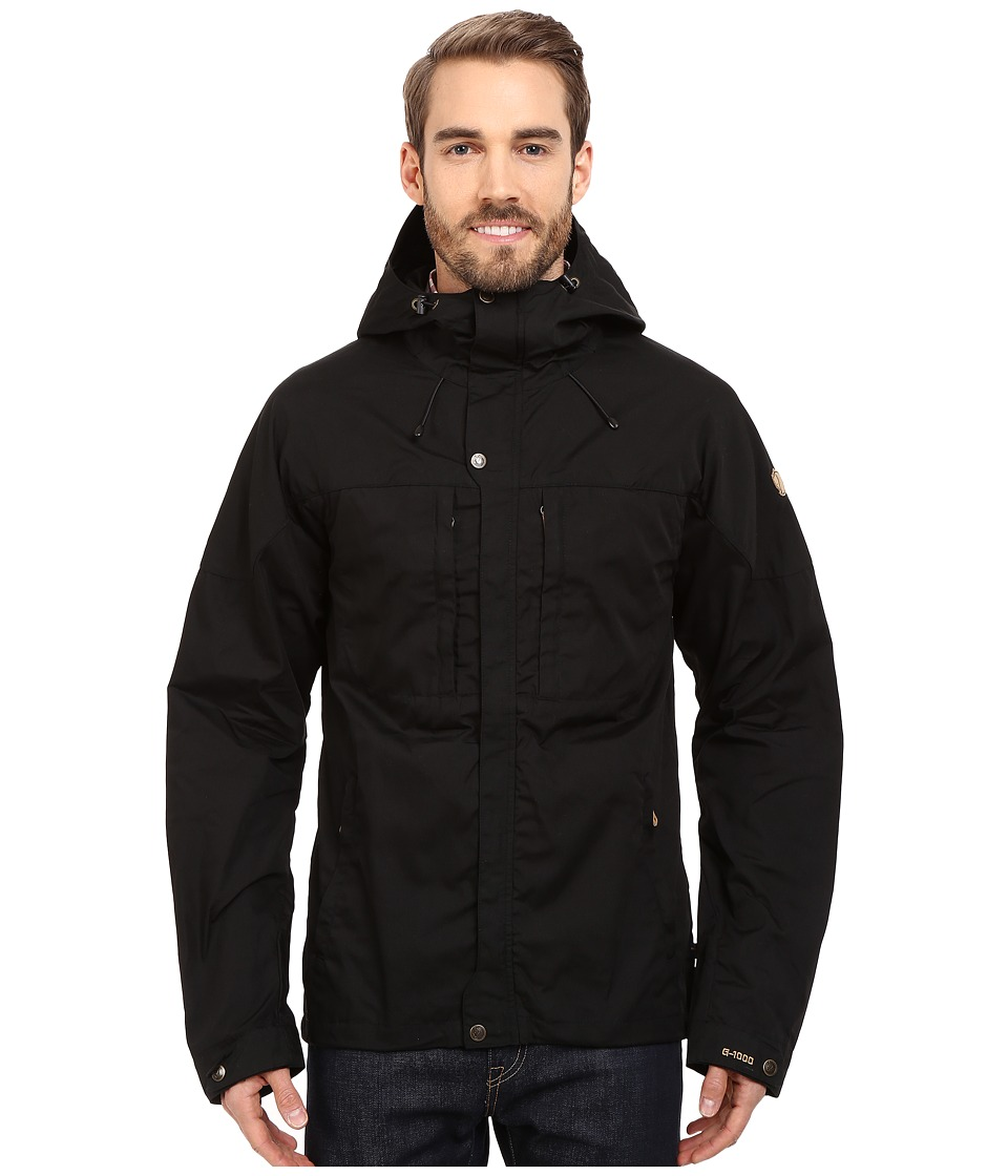 Fjallraven - Skogso Jacket (Black) Mens Jacket