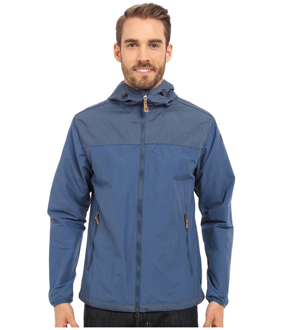 Fj llr ven Abisko Hybrid Jacket Uncle Blue Mens Coat