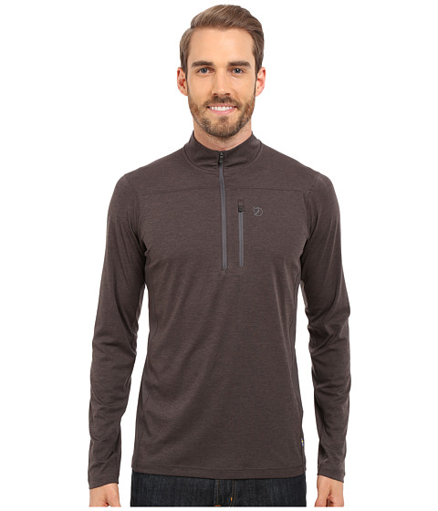 Fjällräven Abisko Vent Zip T-Shirt Long Sleeve