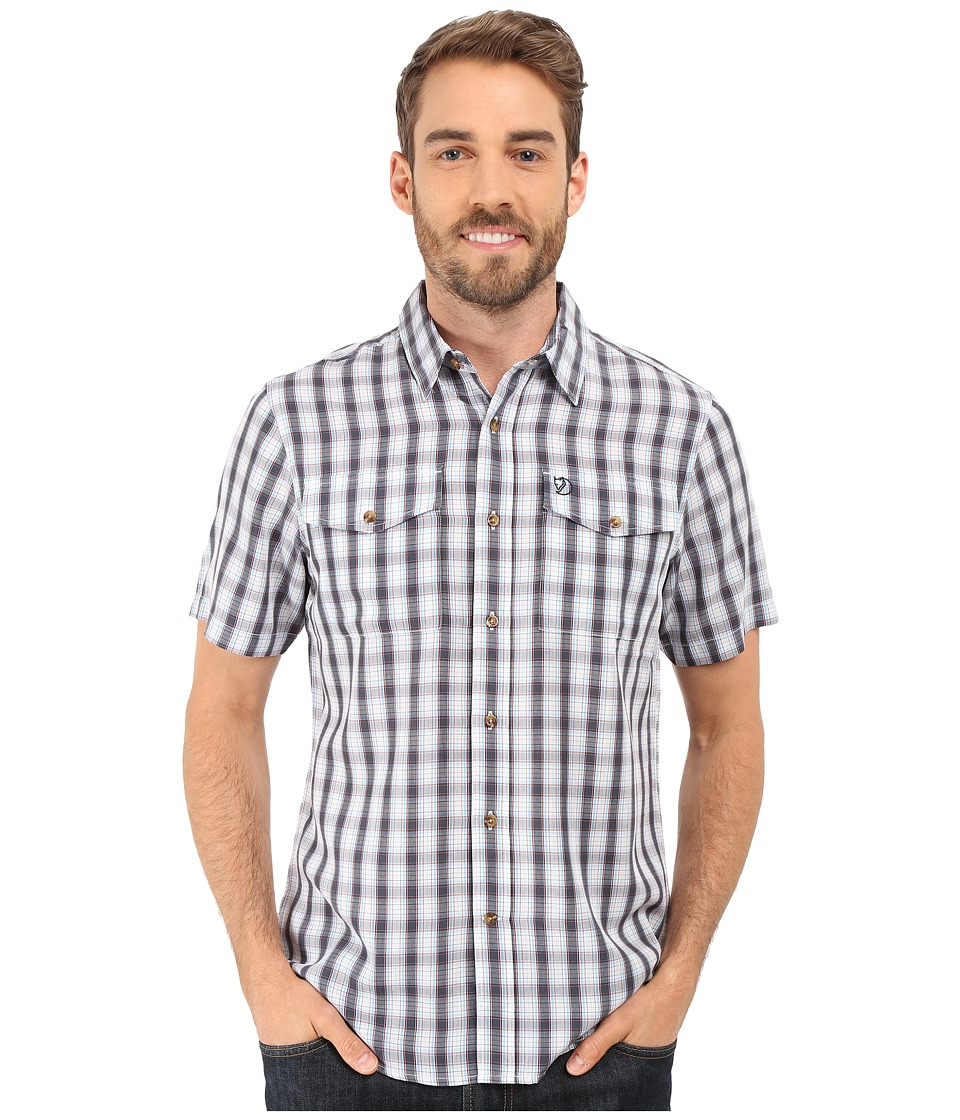 Fj llr ven Abisko Cool Shirt S/S Bluebird Mens Clothing