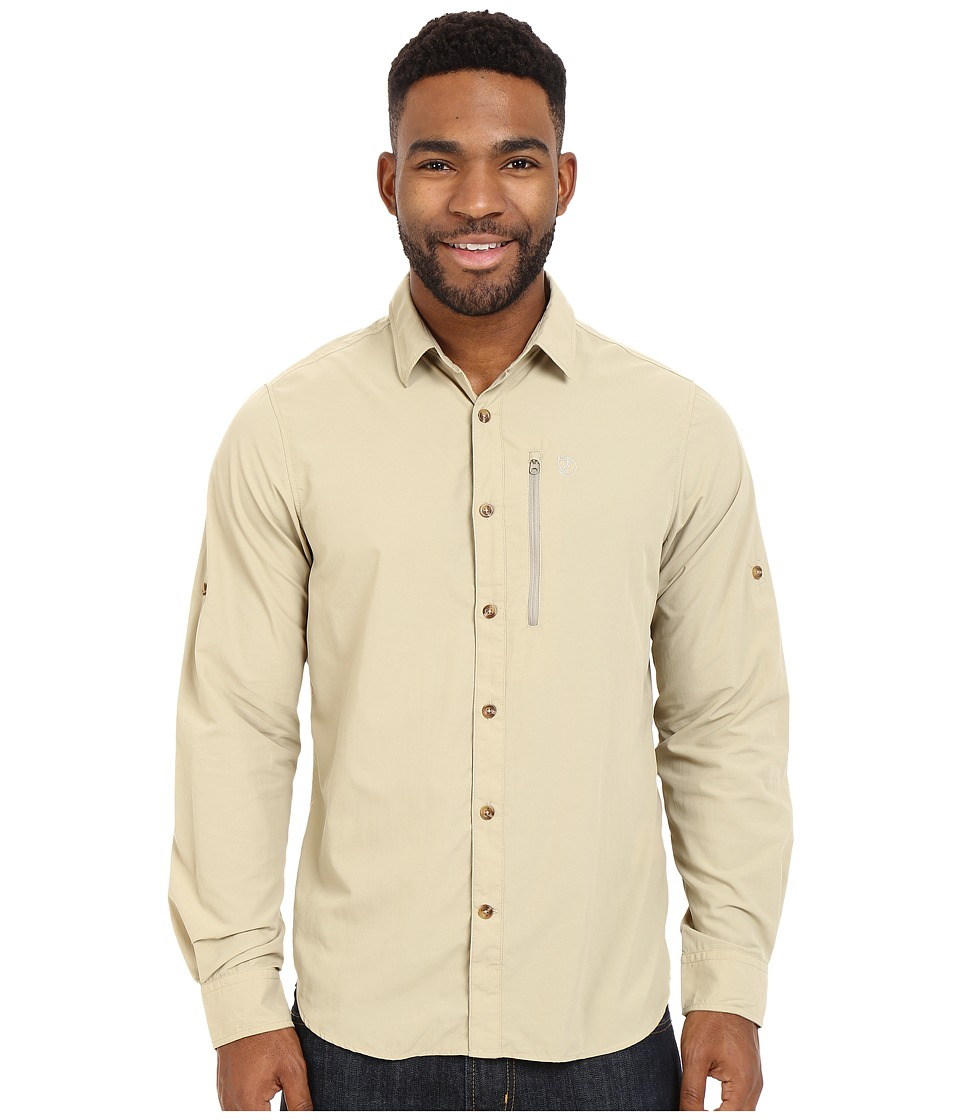 Fj llr ven Abisko Hike Shirt Long Sleeve Cork Mens Clothing