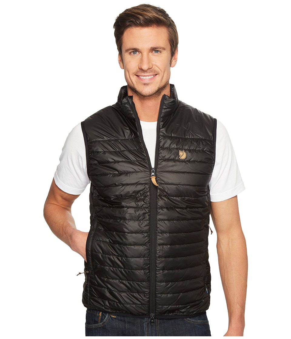 Fjallraven Abisko Padded Vest (Black) Men