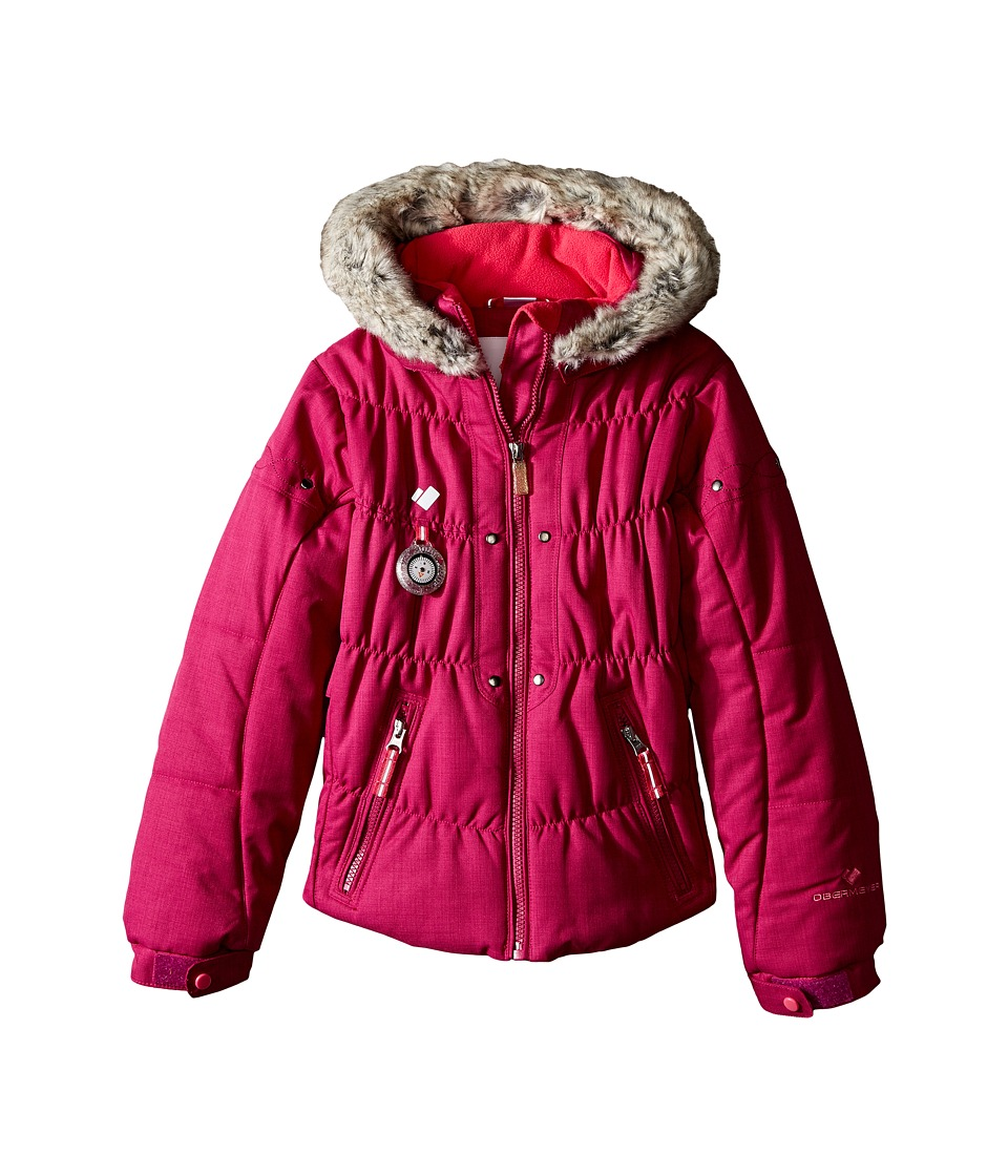 Obermeyer Kids - Juniper Jacket (Toddler/Little Kids/Big Kids) (Razzberry) Girl's Coat