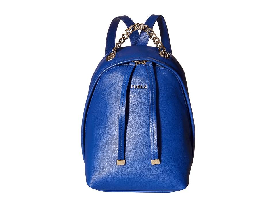 Furla - Spy Bag Mini Backpack (Blue Laguna) Backpack Bags