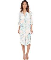 Mara Hoffman - Crinkle Crepe Oversized Shirtdress