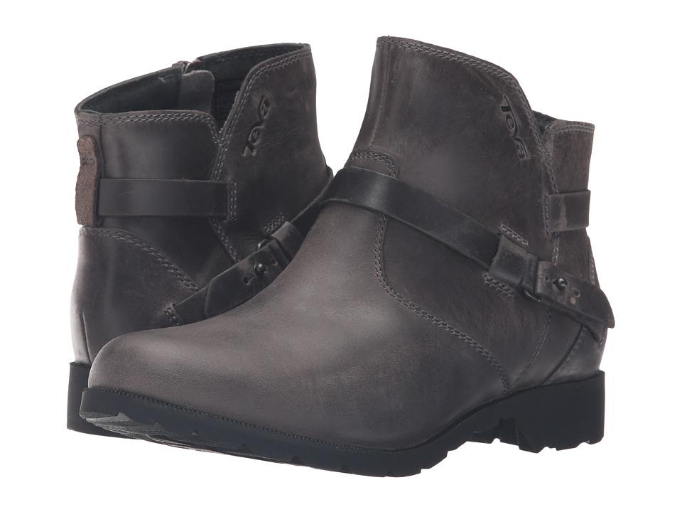 Teva Delavina Ankle (Grey) Women