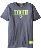 Under Armour Kids - Basketball Lock Up Short Sleeve Tee (Big Kids)