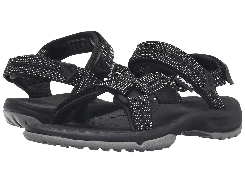 Teva - Terra Fi Lite (City Lights Black/Pastel) Womens Sandals