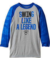 Under Armour Kids - Swing Like a Legend 3/4 Tee (Big Kids)