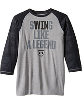 Under Armour Kids - Swing Like a Legend 3/4 Tee (Big Kids)