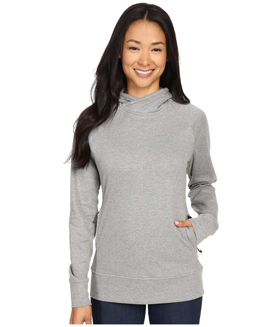 Fjallraven - High Coast Hoodie (Grey) Womens Sweatshirt