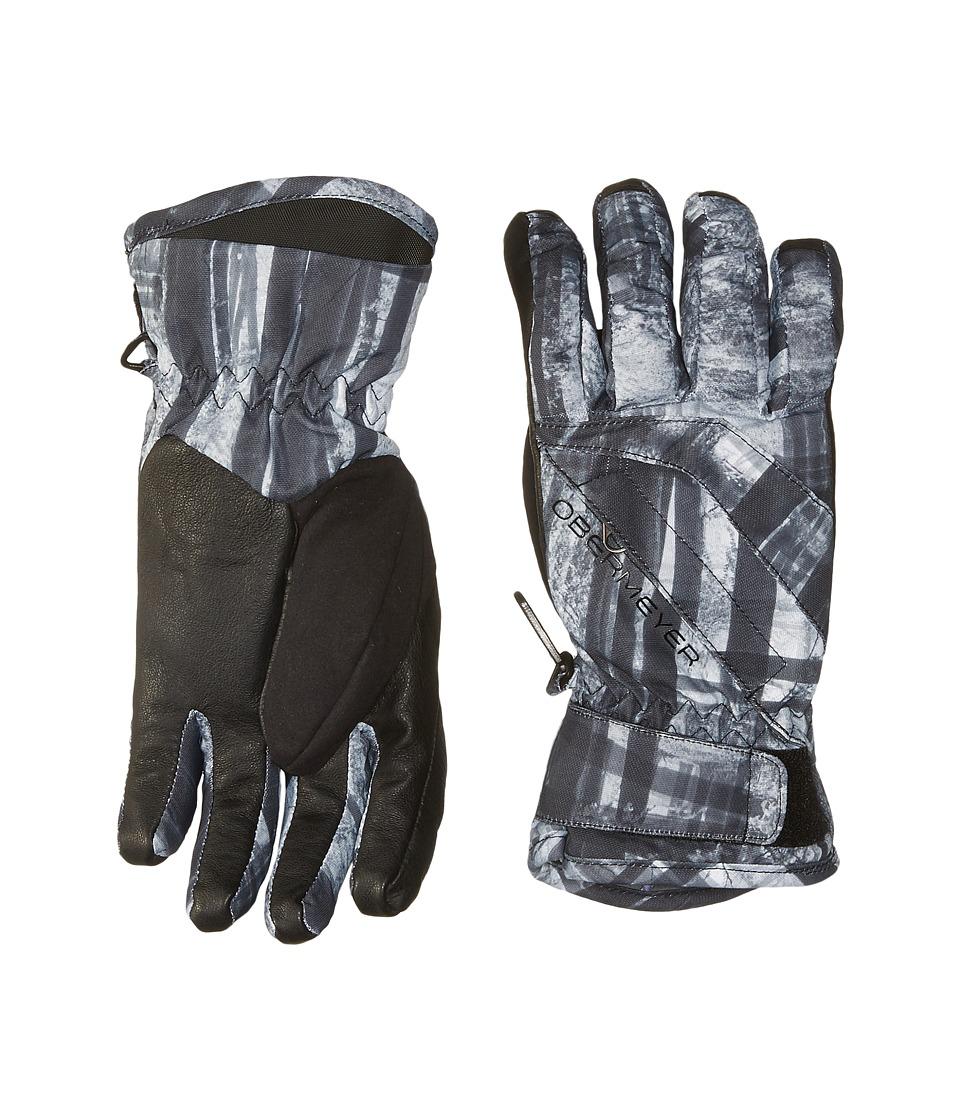 Obermeyer Kids Cornice Gloves (Big Kids) (Forrest for the Trees) Extreme Cold Weather Gloves