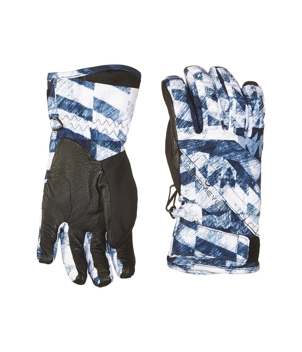 Obermeyer Kids Cornice Gloves (Big Kids) (Coat of Arms) Extreme Cold Weather Gloves