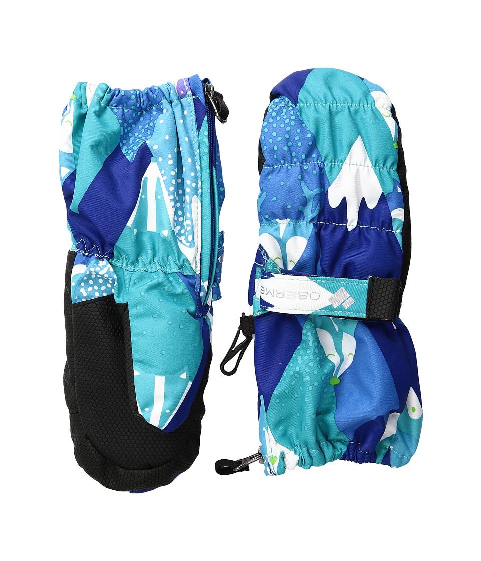 Obermeyer Kids Puffy Mitt (Toddler/Little Kids) (Blue Mountains) Dress Gloves