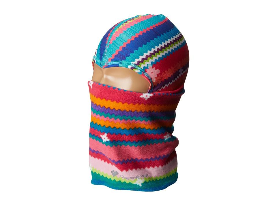 Obermeyer Kids Powder Balaclava (Big Kids) (Scribble Stripe) Caps