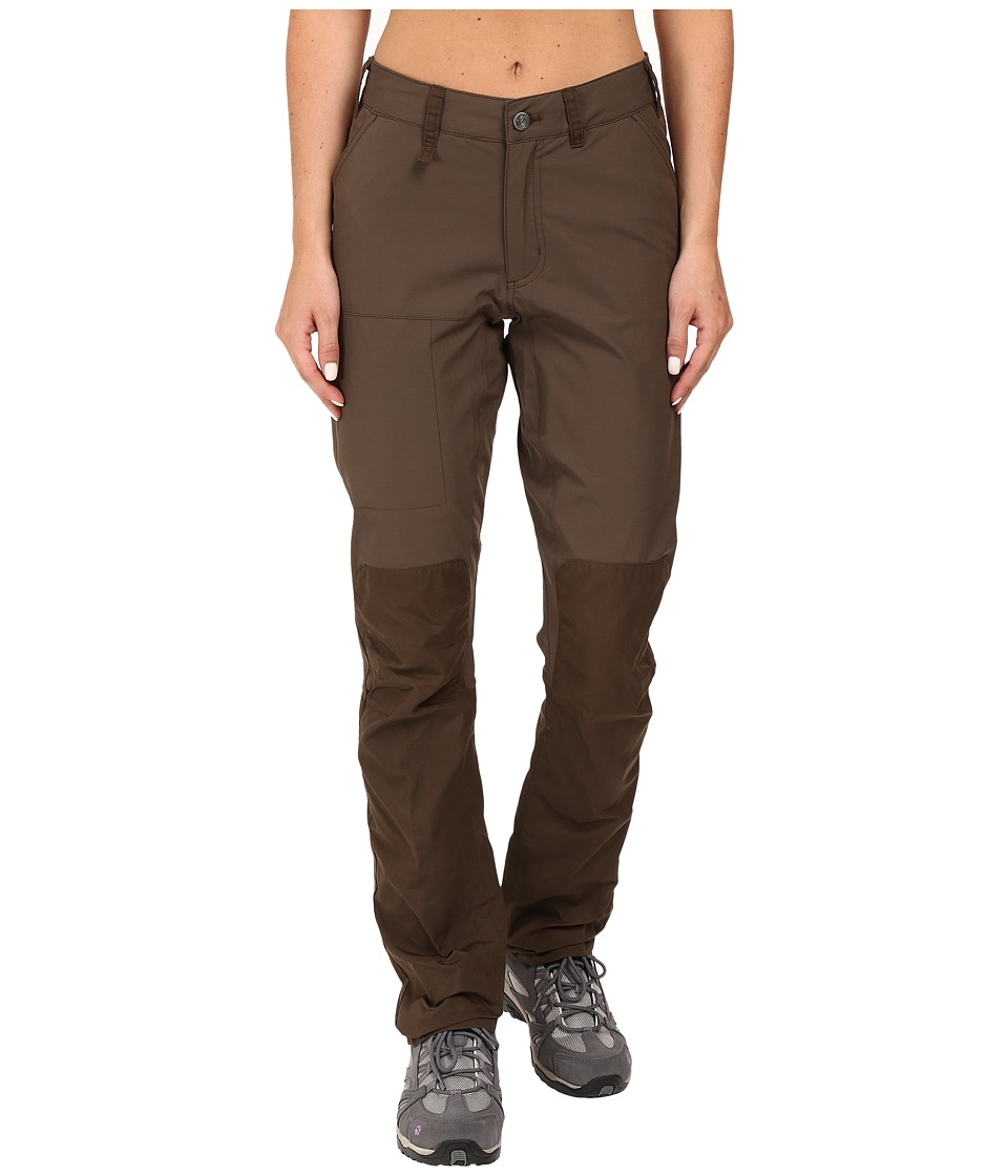 Fjallraven - Abisko Lite Trousers (Dark Olive) Womens Casual Pants