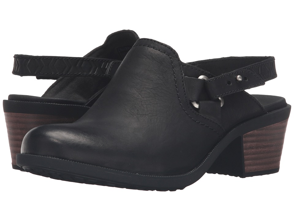 Teva Foxy Clog Leather (Black) Women