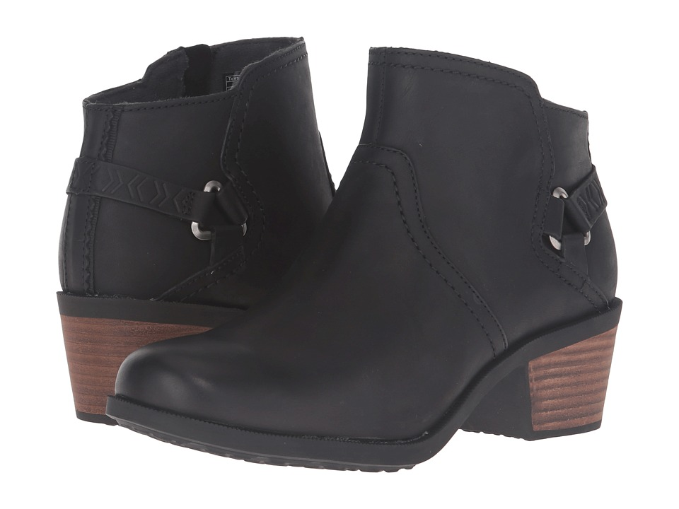 Teva Foxy Leather (Black) Women