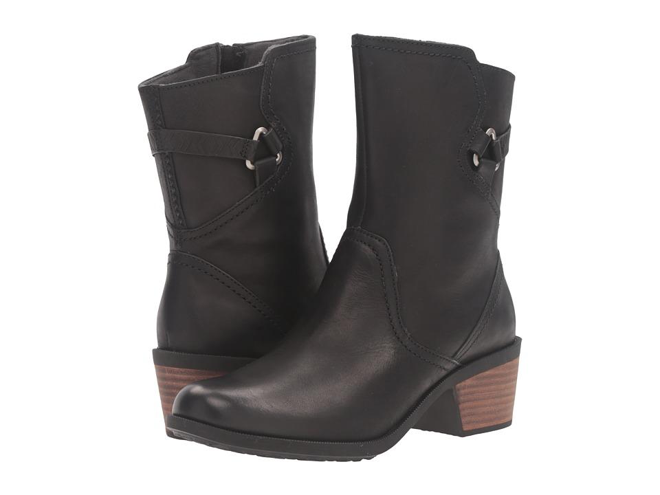 Teva Foxy Mid Leather (Black) Women