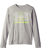 Under Armour Kids - Breakthrough Logo Long Sleeve T-Shirt (Big Kids)