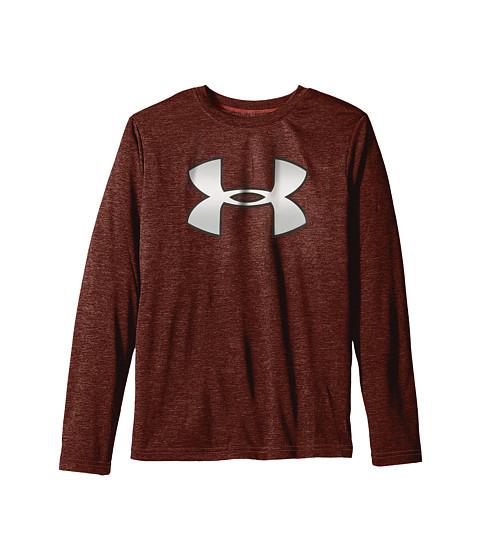 Under Armour Kids Novelty Big Logo Long Sleeve T-Shirt (Big Kids)
